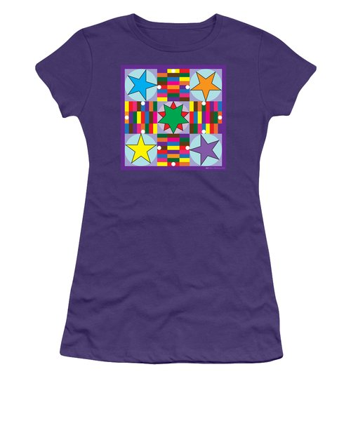 Parcheesi Board Women's T-Shirt (Athletic Fit)