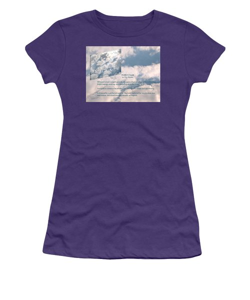 Perfect Clouds Women's T-Shirt (Athletic Fit)