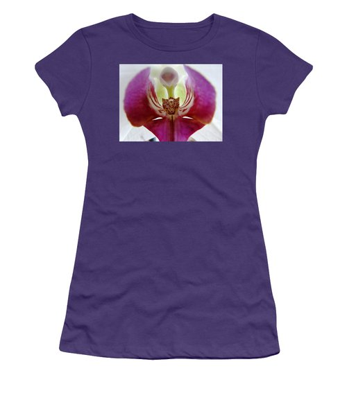 Phalaenopsis Orchid Detail Women's T-Shirt (Athletic Fit)