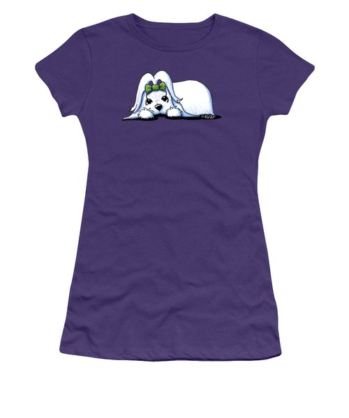 Precious Maltese Women's T-Shirt (Athletic Fit)