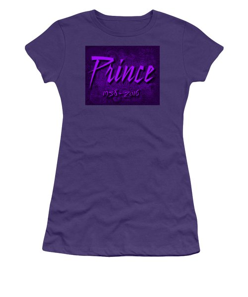 Prince Memorial Women's T-Shirt (Athletic Fit)