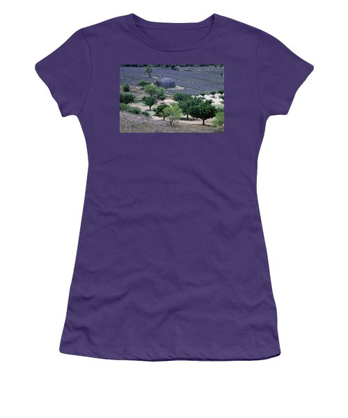Provence Women's T-Shirt (Junior Cut) by Flavia Westerwelle
