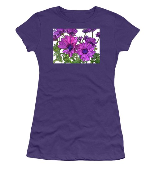 Purple Days Women's T-Shirt (Athletic Fit)