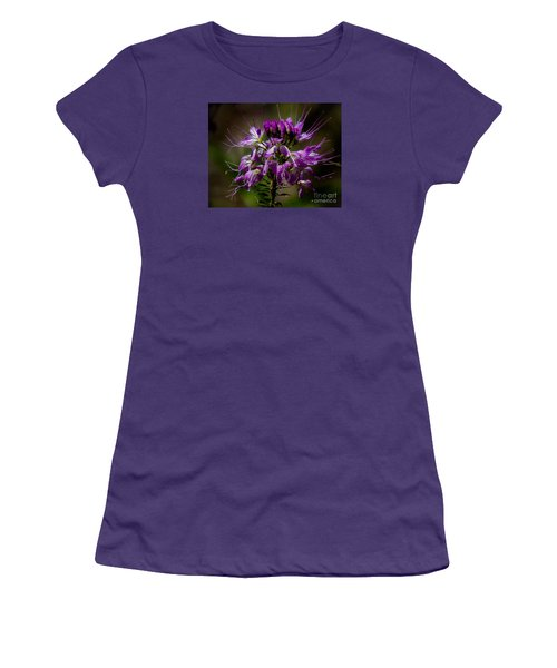 Purple Flower 1 Women's T-Shirt (Athletic Fit)