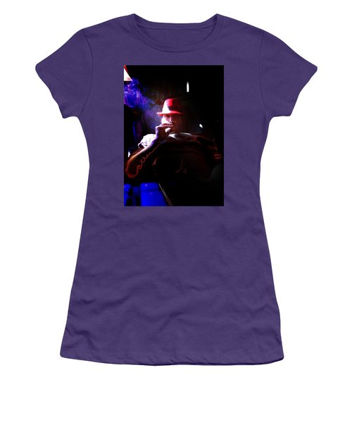 Purple Haze Boss  Women's T-Shirt (Junior Cut) by John Jr Gholson