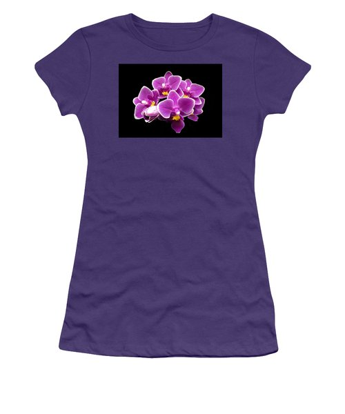 Purple Orchid Women's T-Shirt (Athletic Fit)