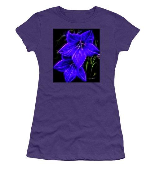 Purple Passion Women's T-Shirt (Junior Cut) by Joann Copeland-Paul