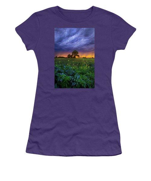 Quietly Drifting By Women's T-Shirt (Junior Cut)