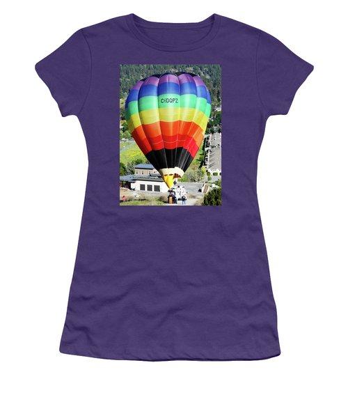 Rainbow Balloon 5 Women's T-Shirt (Athletic Fit)