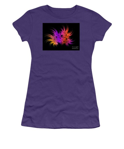 Rainbow Bouquet Women's T-Shirt (Athletic Fit)