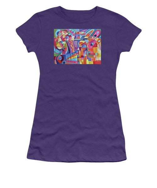 Rainmakers' Dance Women's T-Shirt (Athletic Fit)