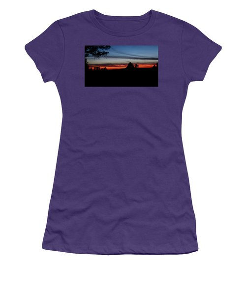 Red Sunset Strip Women's T-Shirt (Athletic Fit)