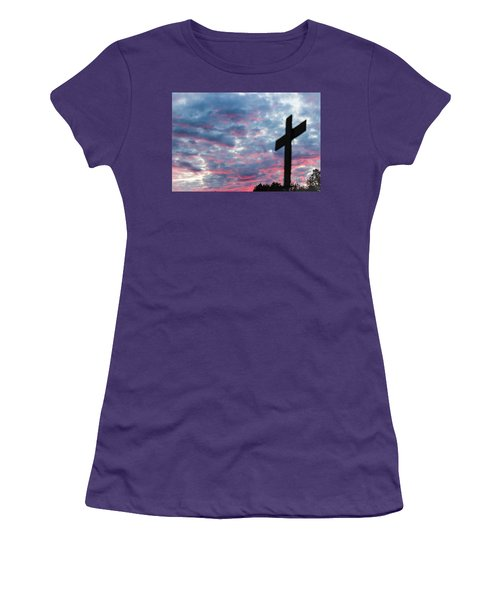 Reminded Women's T-Shirt (Junior Cut) by Robin Coaker