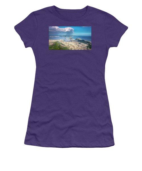 Rio De Janeiro Women's T-Shirt (Junior Cut) by Andrew Matwijec