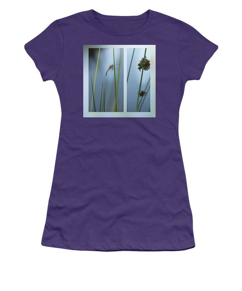Rushes And Dragonfly Women's T-Shirt (Athletic Fit)