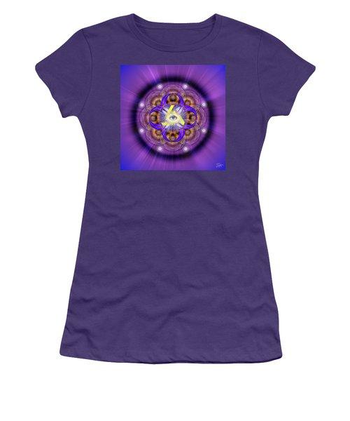 Sacred Geometry 639 Women's T-Shirt (Junior Cut) by Endre Balogh