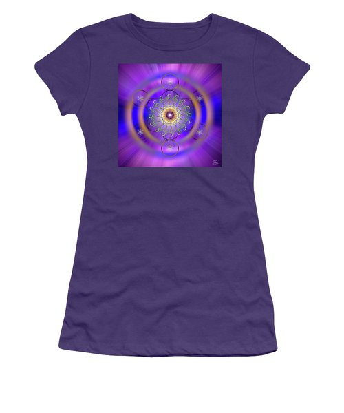 Sacred Geometry 658 Women's T-Shirt (Athletic Fit)