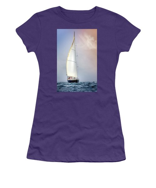 Sailboat 9 Women's T-Shirt (Athletic Fit)