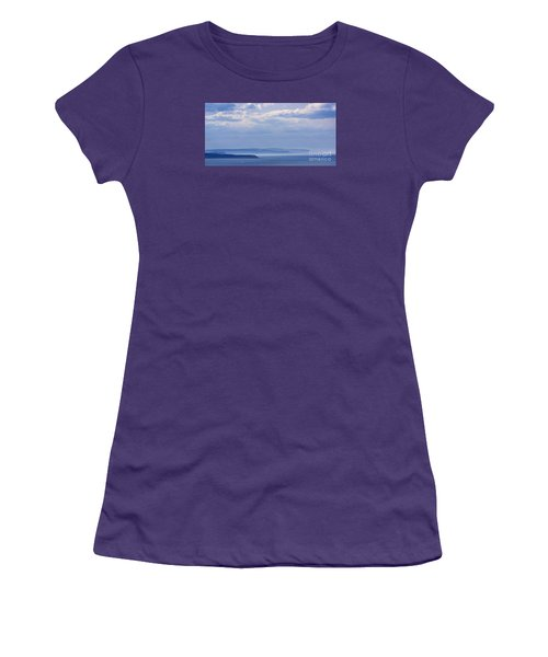 Sea Fret Women's T-Shirt (Junior Cut) by David  Hollingworth