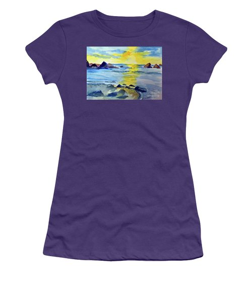 Seashore Women's T-Shirt (Athletic Fit)