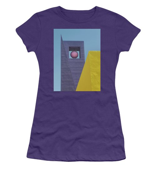 Similar Shapes Different Colors Women's T-Shirt (Junior Cut) by Gary Slawsky
