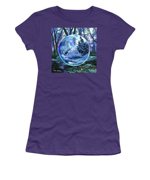 Snowglobular Women's T-Shirt (Athletic Fit)