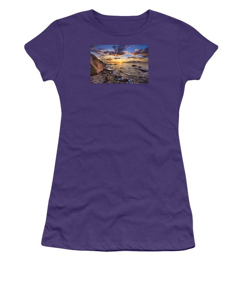 Southold Sunset Women's T-Shirt (Athletic Fit)