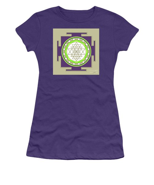 Sri Yantra Of Prosperity Women's T-Shirt (Athletic Fit)