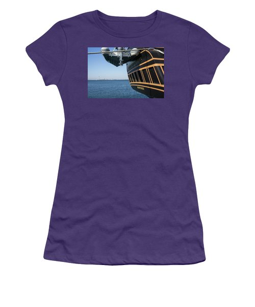 Ssv Oliver Hazard Perry Close Up Women's T-Shirt (Junior Cut) by Nancy De Flon