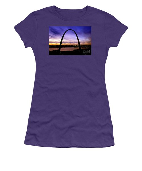 St. Louis, Missouri Women's T-Shirt (Junior Cut) by Wernher Krutein