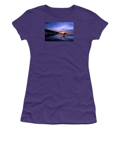 Starburst Women's T-Shirt (Junior Cut) by Sean Sarsfield
