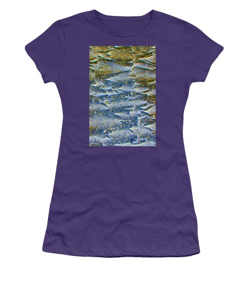 Women's T-Shirt (Junior Cut) featuring the photograph Stepping Stones by Lenore Senior