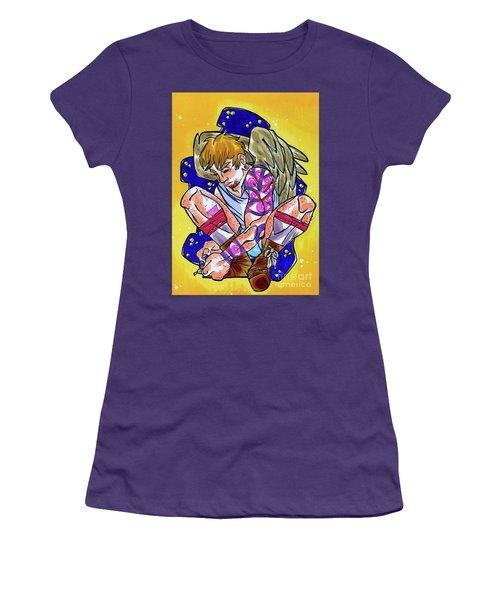 Street Angel II Women's T-Shirt (Athletic Fit)