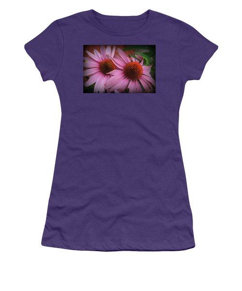 Summer Beauties - Coneflowers Women's T-Shirt (Athletic Fit)