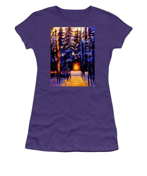 Sun Kiss..2 Women's T-Shirt (Athletic Fit)