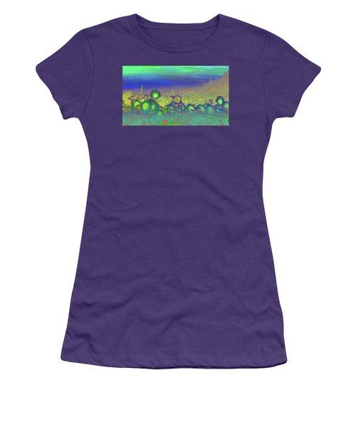 Sunflower Serenade Women's T-Shirt (Junior Cut)