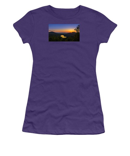 Sunset At Owls Head Women's T-Shirt (Athletic Fit)