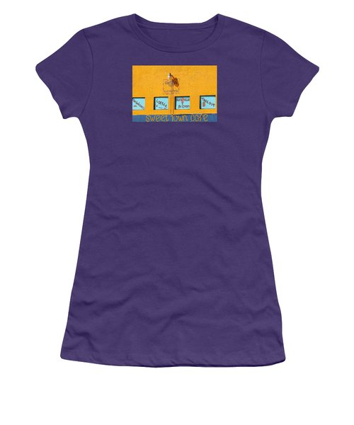 Sweet Town Cafe Women's T-Shirt (Athletic Fit)