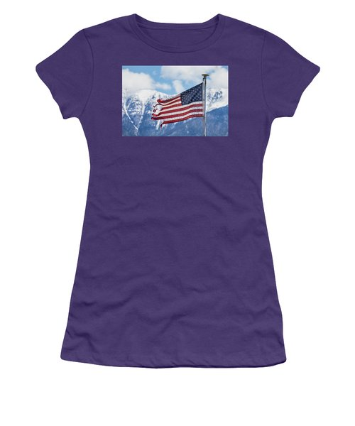 Tattered And Torn Women's T-Shirt (Junior Cut) by James BO Insogna