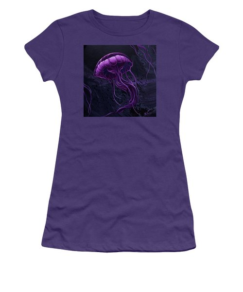 Tentacles Women's T-Shirt (Athletic Fit)
