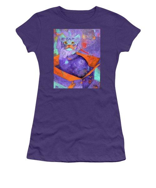 The Color Purrrple Women's T-Shirt (Athletic Fit)