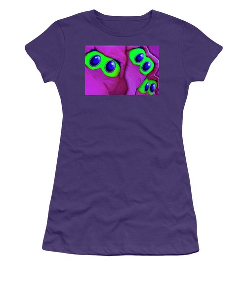 Women's T-Shirt (Athletic Fit) featuring the photograph The Eyes Have It by Paul Wear