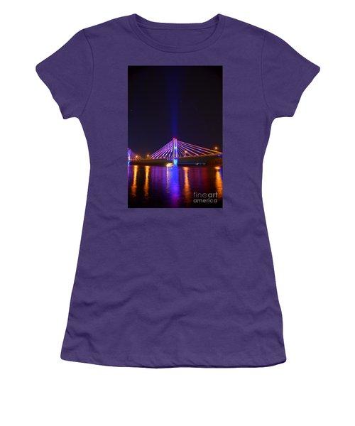 The Hidden Light Women's T-Shirt (Junior Cut) by Justin Moore