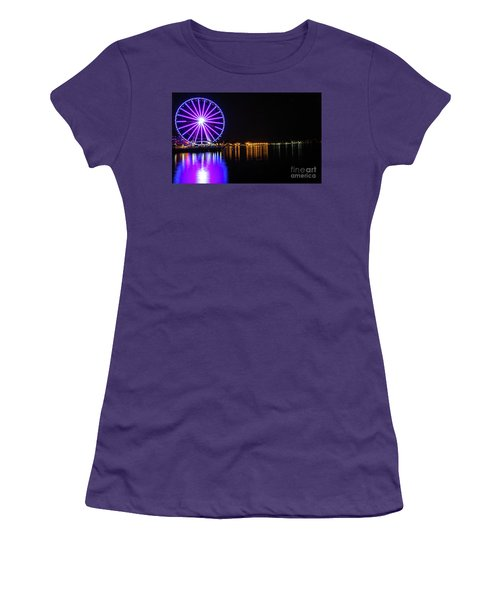 The Seattle Ferris Wheel Women's T-Shirt (Athletic Fit)