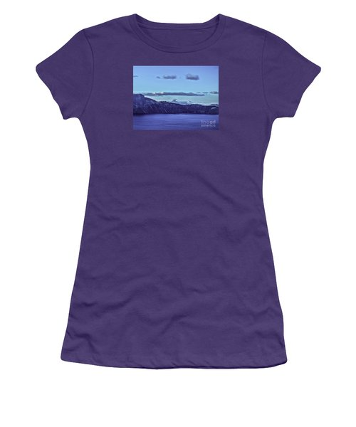 Women's T-Shirt (Junior Cut) featuring the photograph The World Beyond by Nancy Marie Ricketts