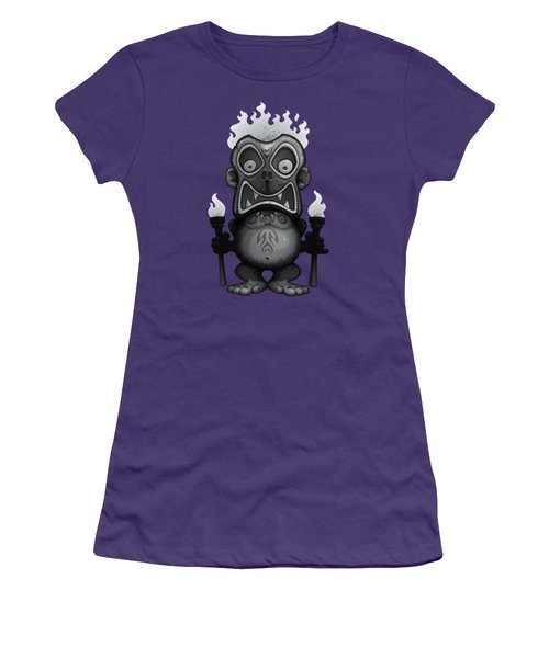 Tiki Munkee Women's T-Shirt (Athletic Fit)