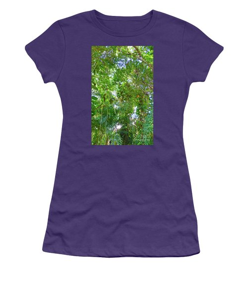 Women's T-Shirt (Athletic Fit) featuring the photograph Tree M2 by Francesca Mackenney
