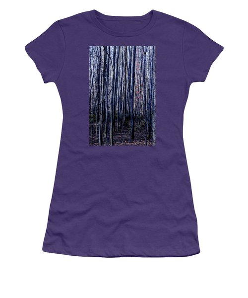 Treez Blue Women's T-Shirt (Athletic Fit)