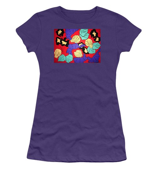 Tropical Beauty Women's T-Shirt (Junior Cut) by Vickie G Buccini