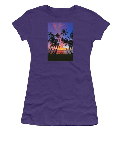 Tropical Nights Women's T-Shirt (Junior Cut) by James Roemmling